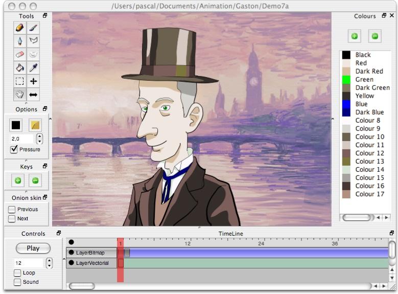 Pencil 2d animation
