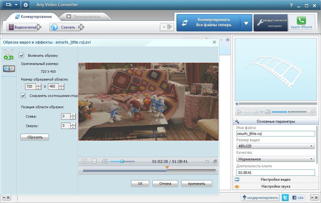 Any Video Converter Free/Professional